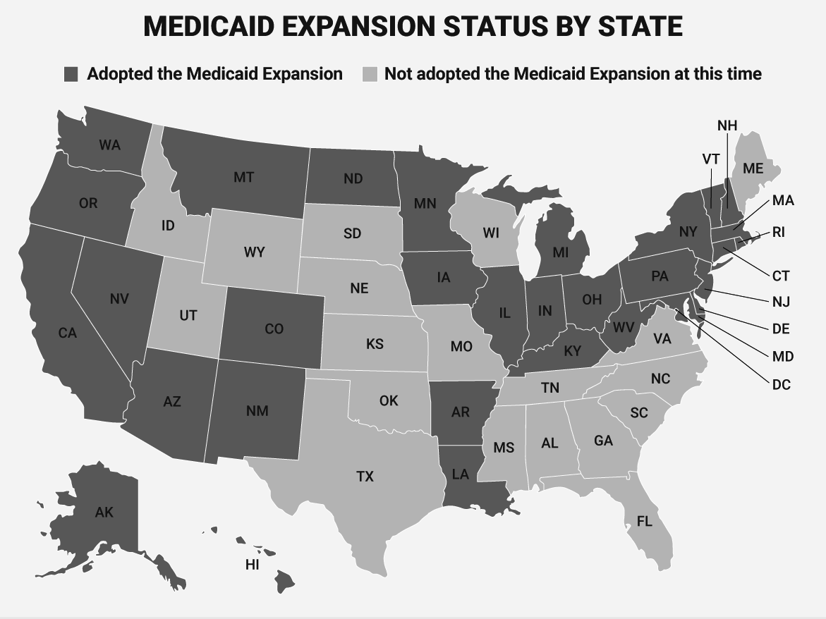 Trumpcare's failure has set off a chain reaction of states trying to expand Medicaid  -
