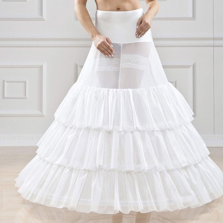 Le jupon, l'allié secret des robes de mariée
