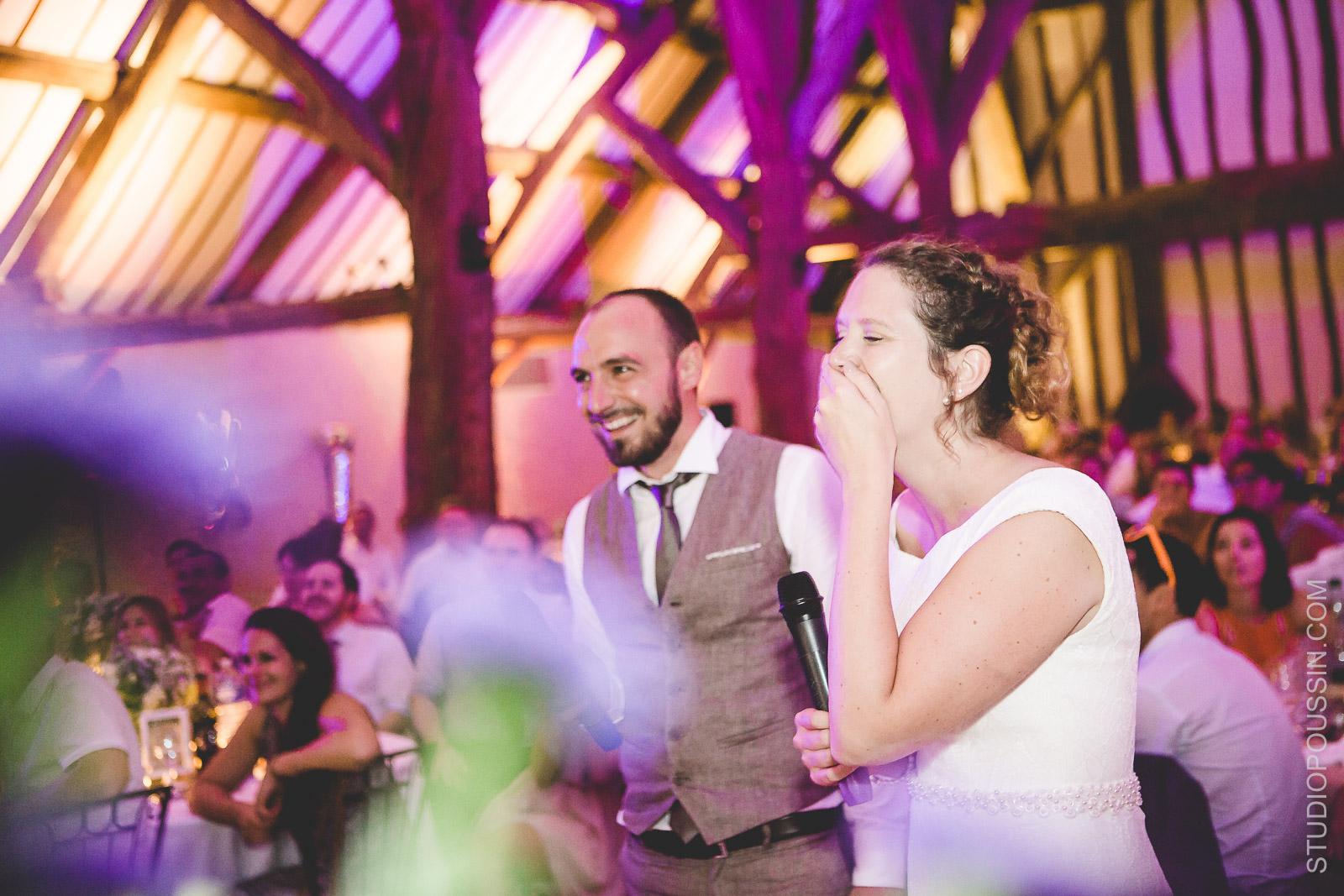 photo de soirée mariage grange de bourgoult