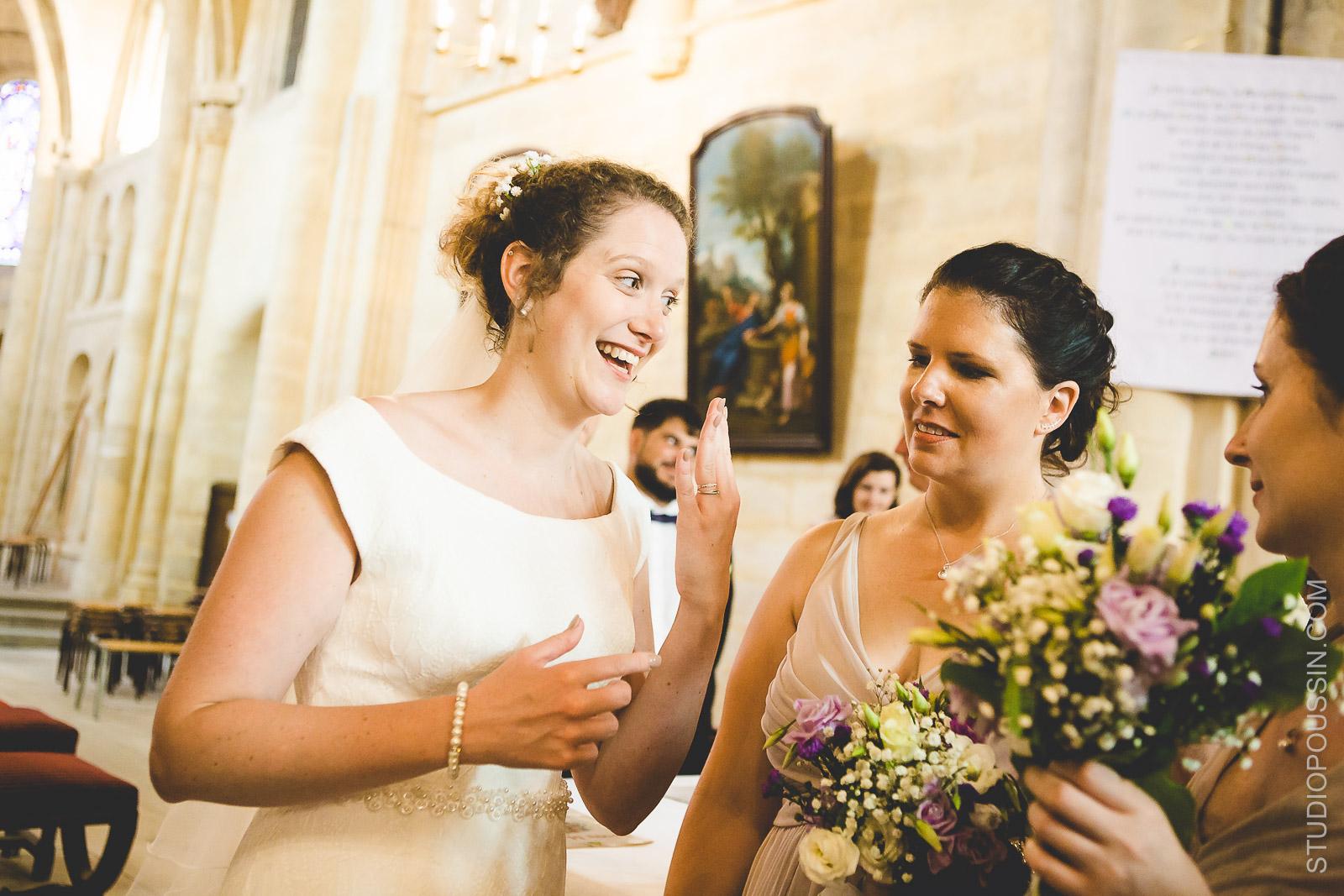 phtoographe mariage Rouen église