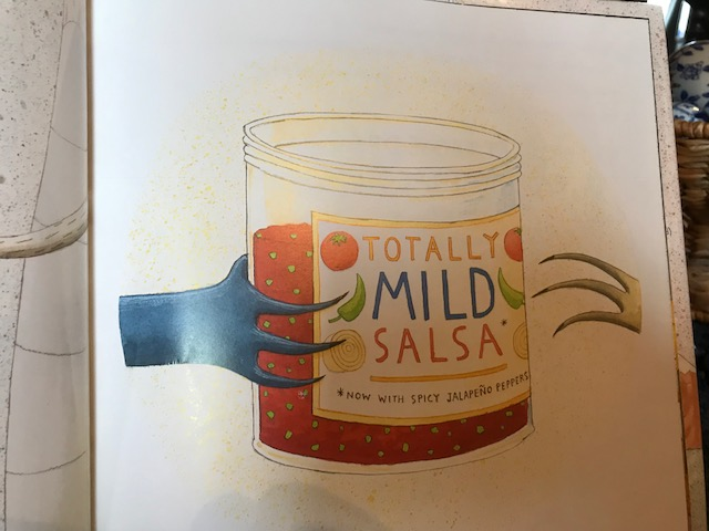5. Please pass the answer. What hot and spicy picture book is this illustration from?