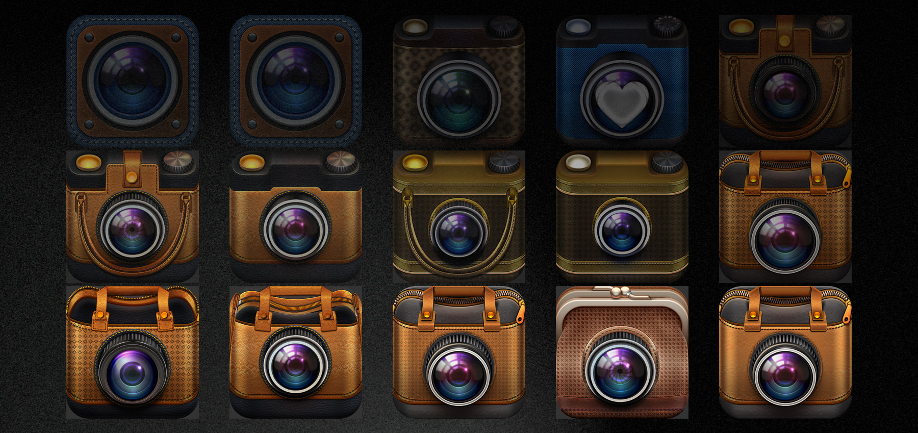 Process of making Do You Like It? app icon.