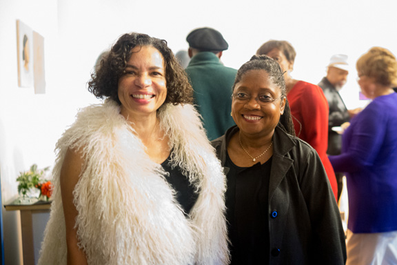 Lava Thomas and Lavialle Campbell