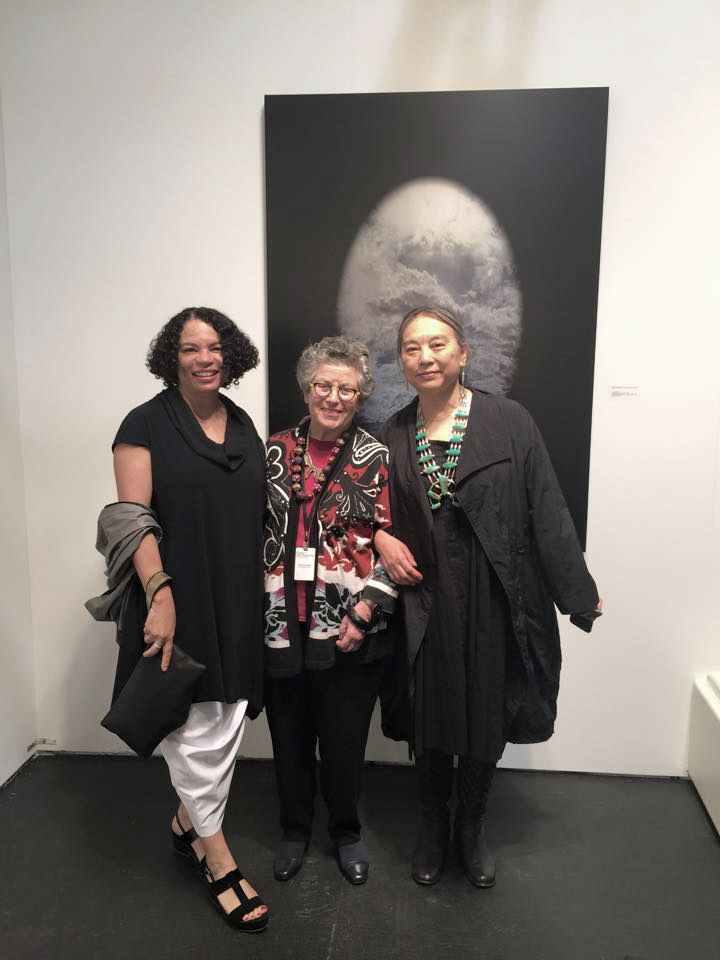 Lava Thomas, Rena Bransten and Hung Lui