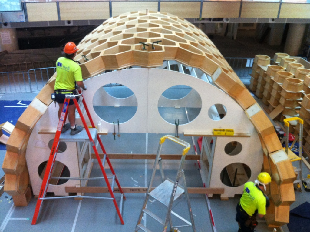 Construction of the hive