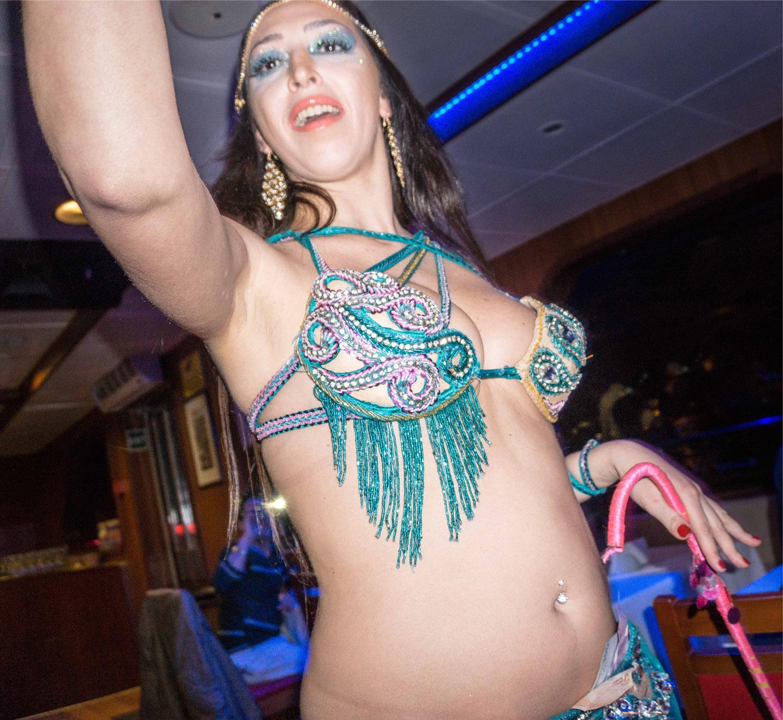 Belly dancer, Bosphorus dinner cruise
