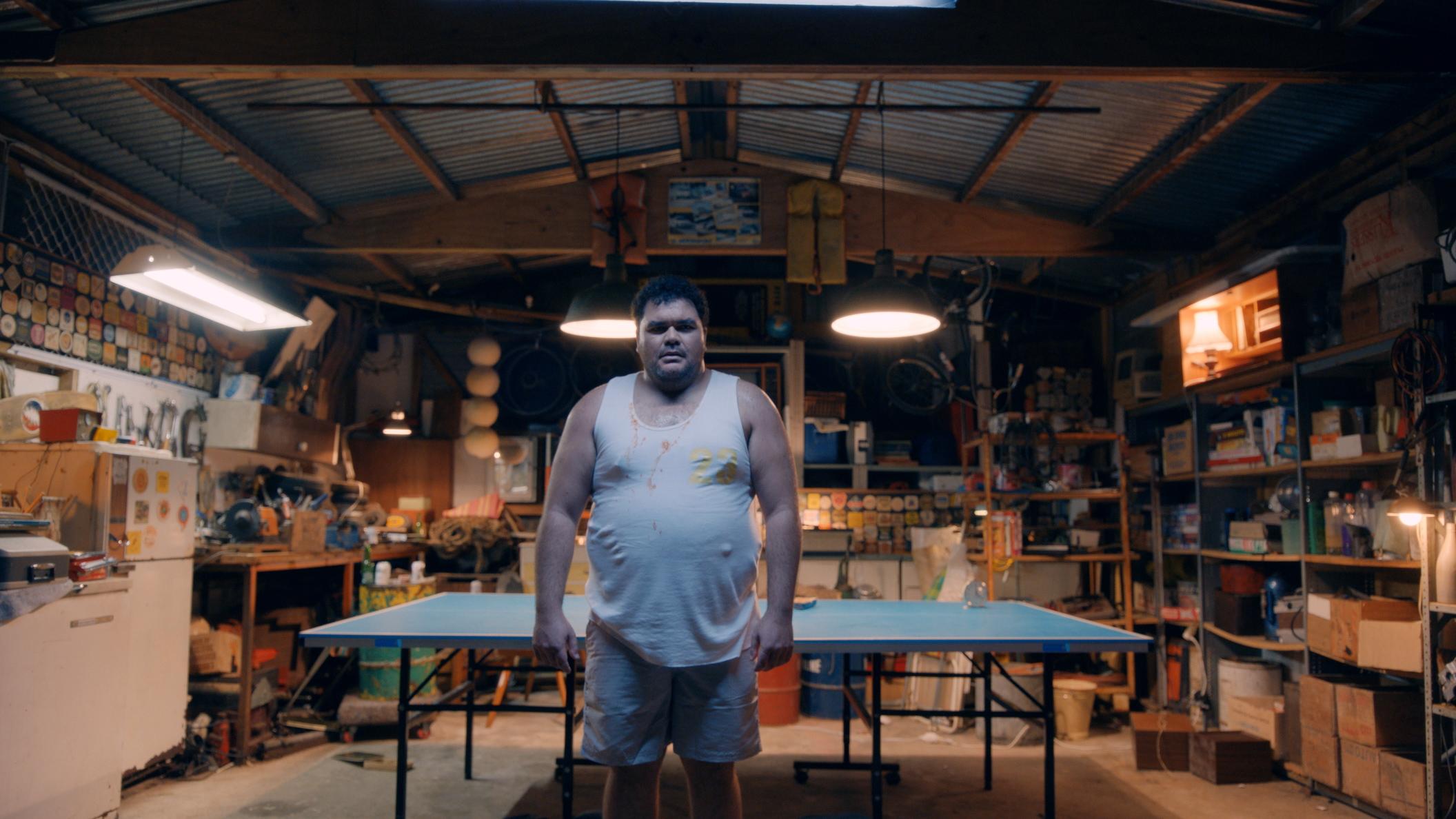 The magnificent Josh Thomson as Alan.