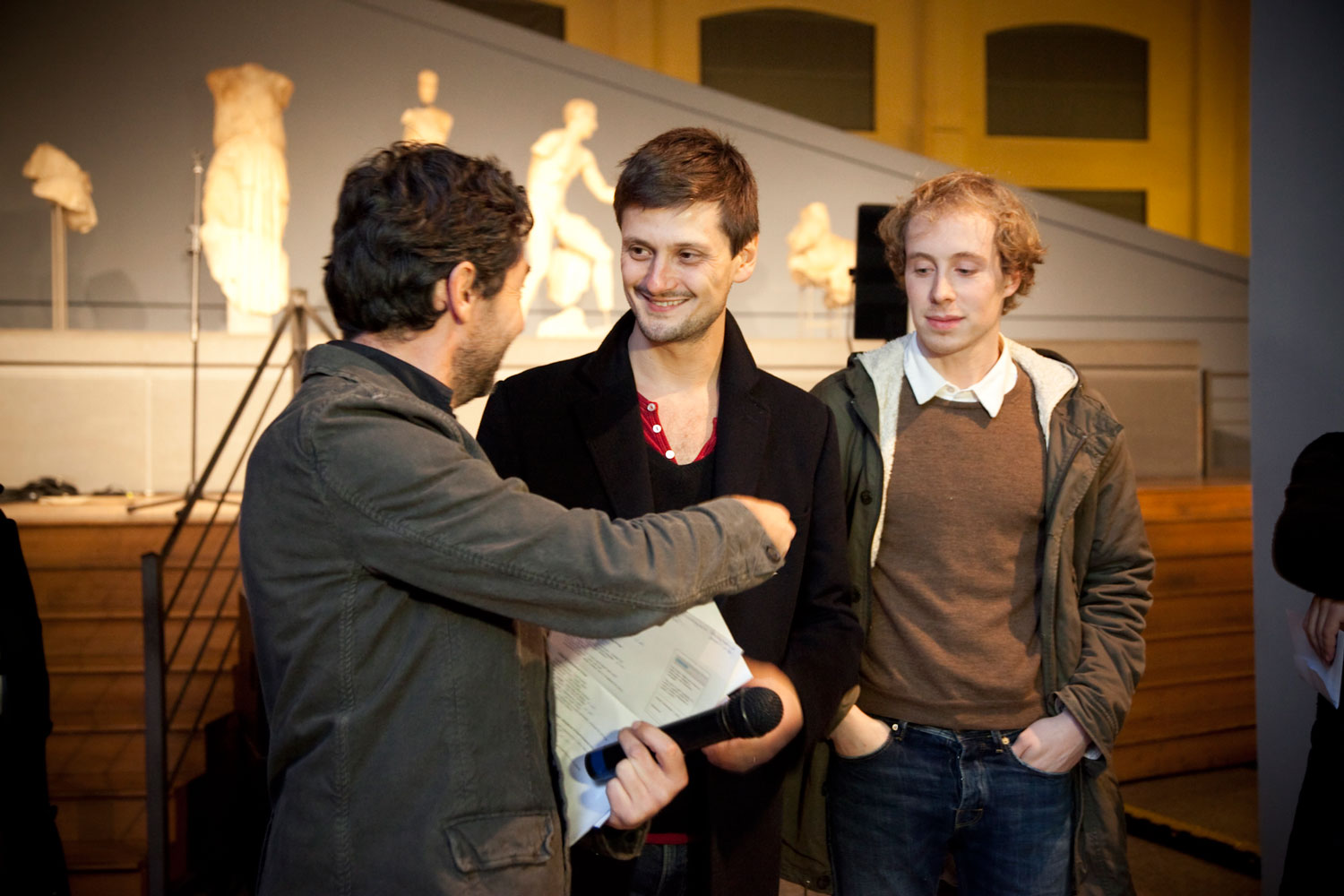 Award ceremony.  Photo by Michela Del Forno .