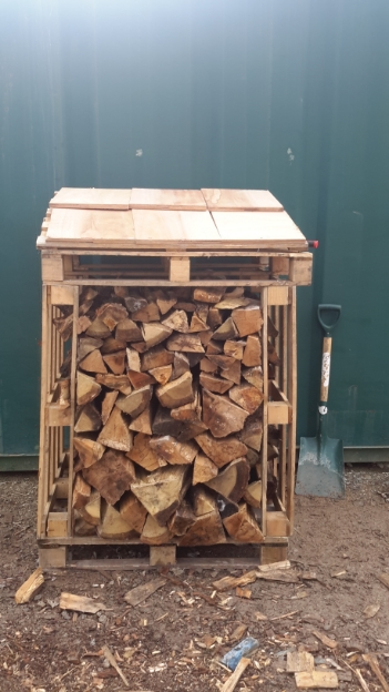 Our very own recycled pallet wood store.