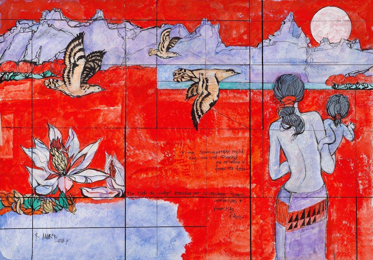 Triptychon «Sonnenstrahl»
