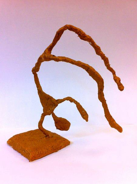 Third Grade Giacometti Figure Sculpture