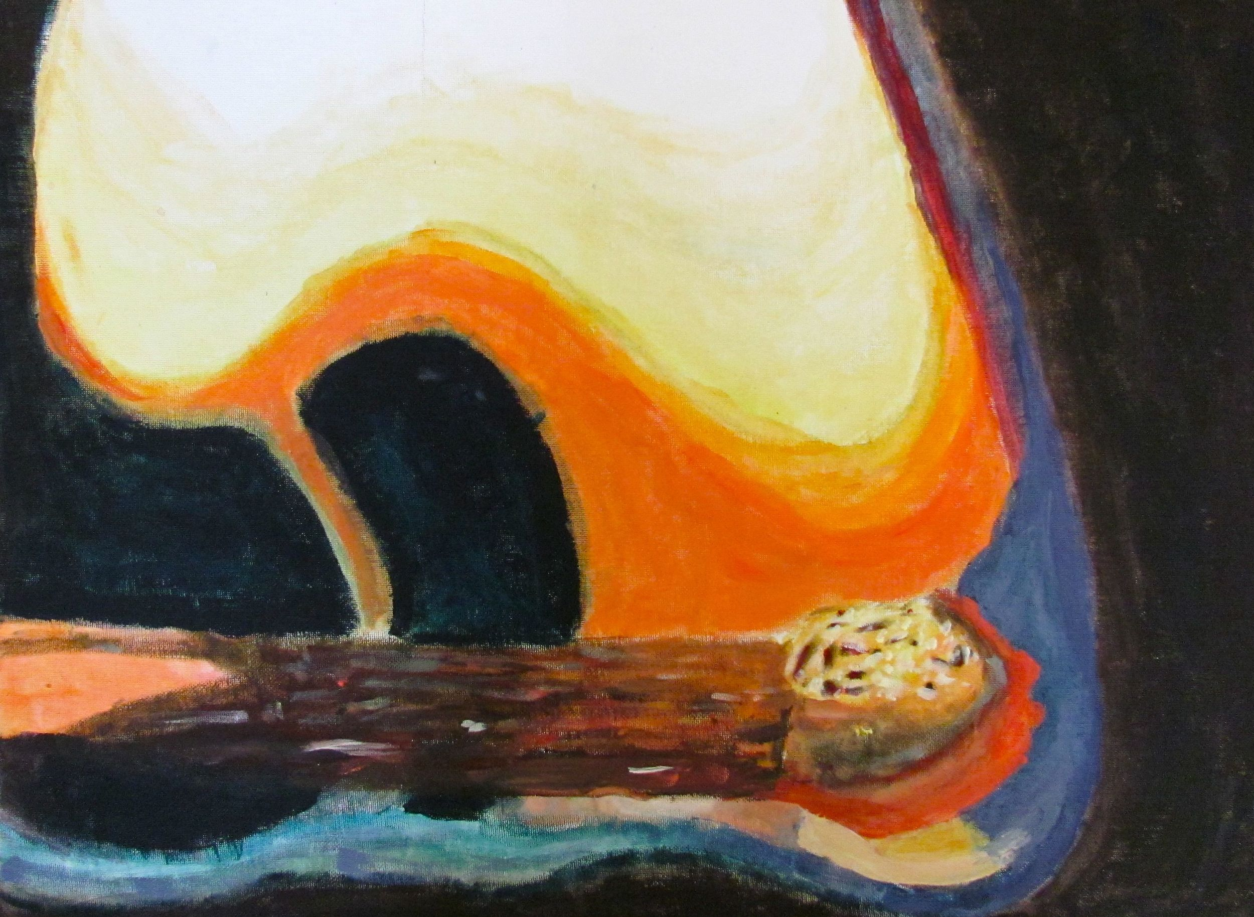 Sixth Grade Macro Painting