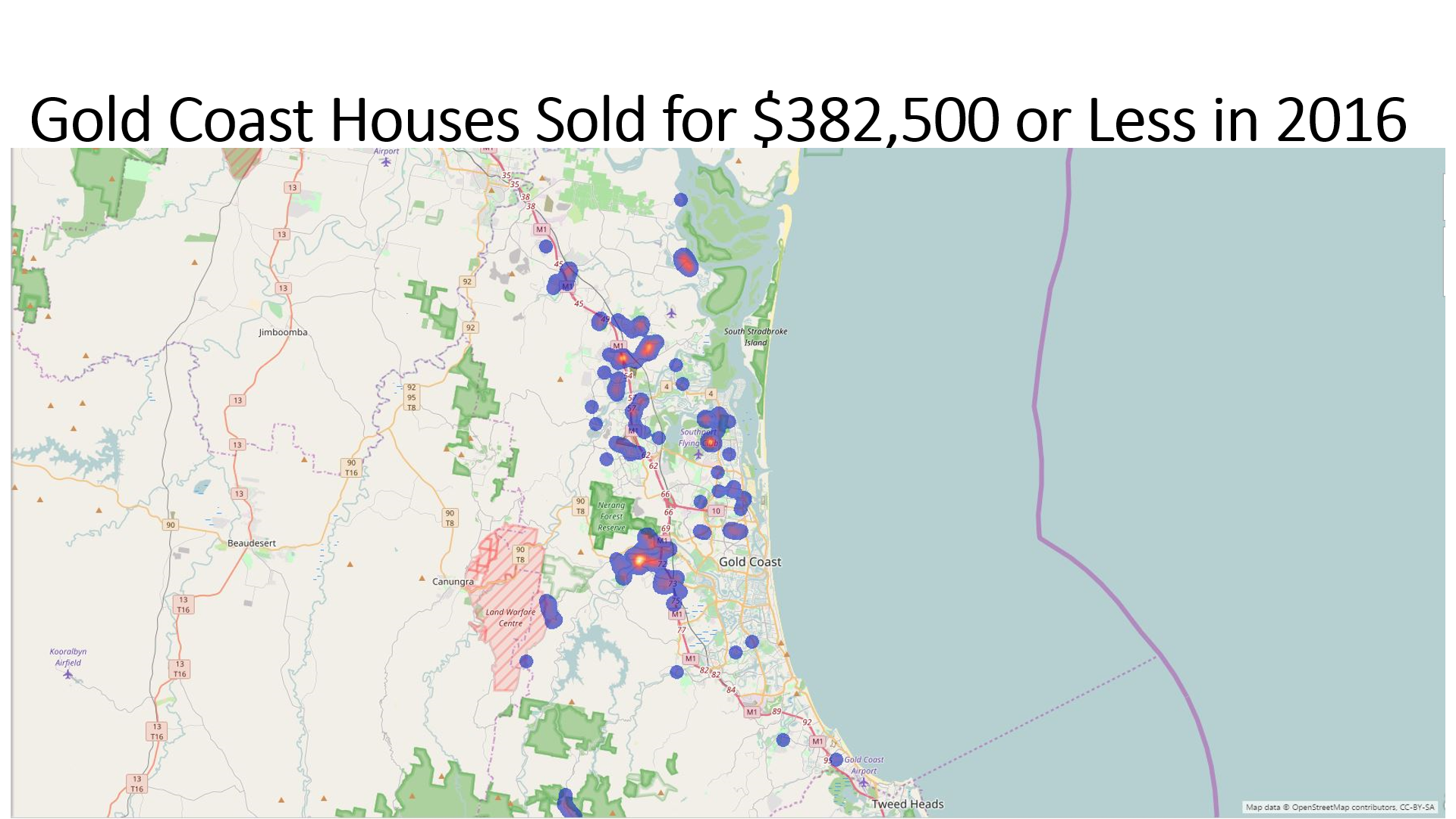 Source: PriceFinder, Power BI Maps, The NPR Co.