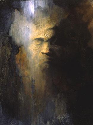 Beethoven's Death Mask Study V - 1996