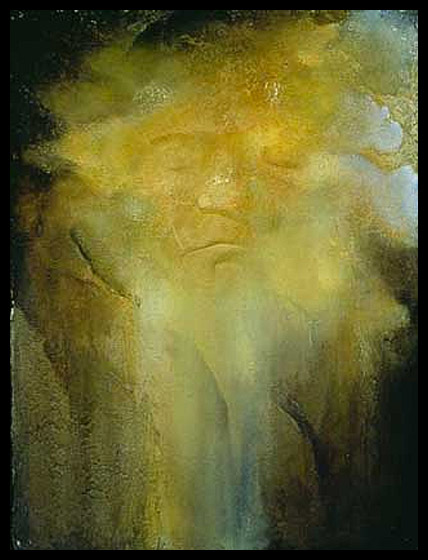 Beethoven's Death Mask Study VII - 1996