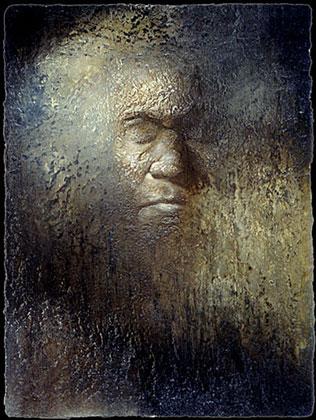 Beethoven's Death Mask Study X -  2005