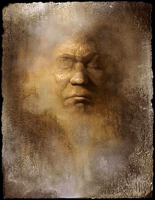 Beethoven's Death Mask Study IX -  2004