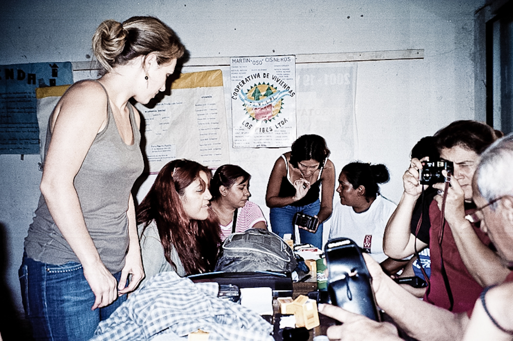 Photography workshops at Los Pibes co-operative, Buenos Aires, 2007