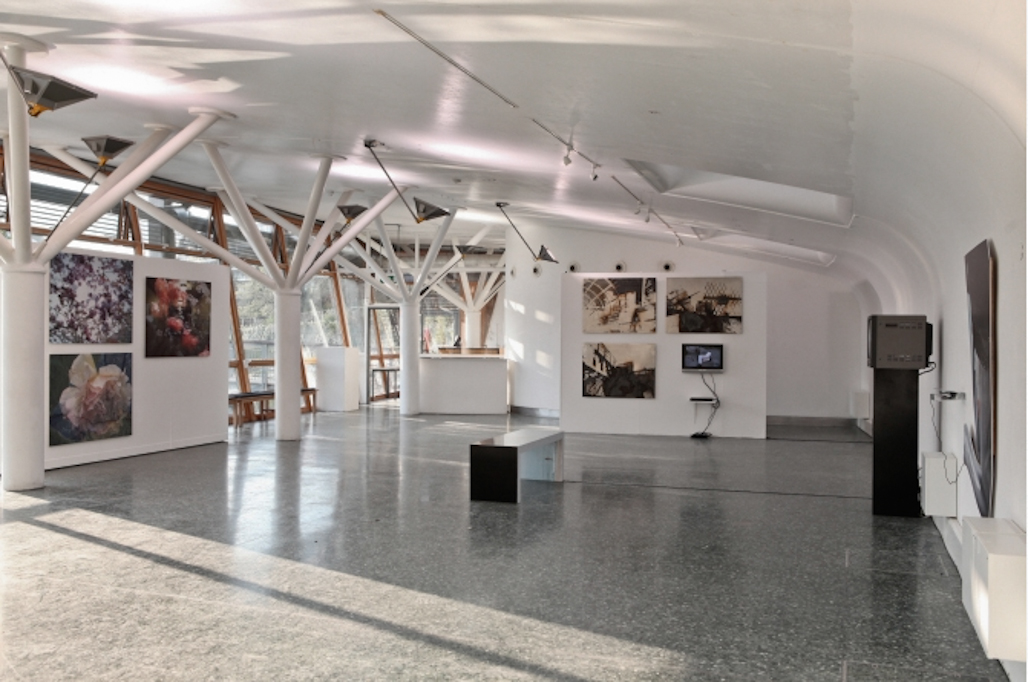 'Scale and Place' Installation view of Games work at Mile End Art Pavilion, 2012