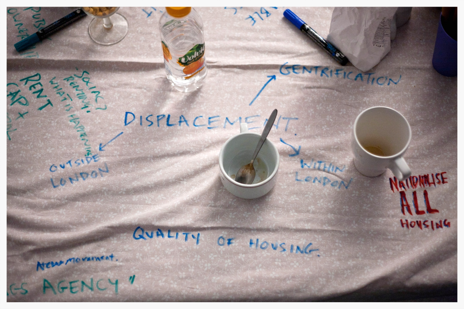 Round table discussion   'Real Estates'  a project by Fugitive Images, Focus E15,http://focuse15.org/ PEER Gallery, 19th March 2015