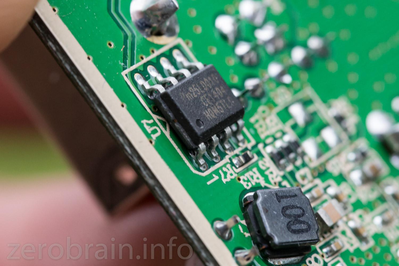Pm25LD010 Flash Speicher
