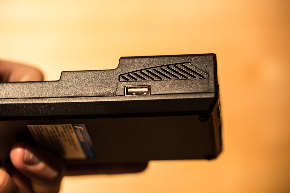 USB Anschluss bei Benutzung als Powerbank