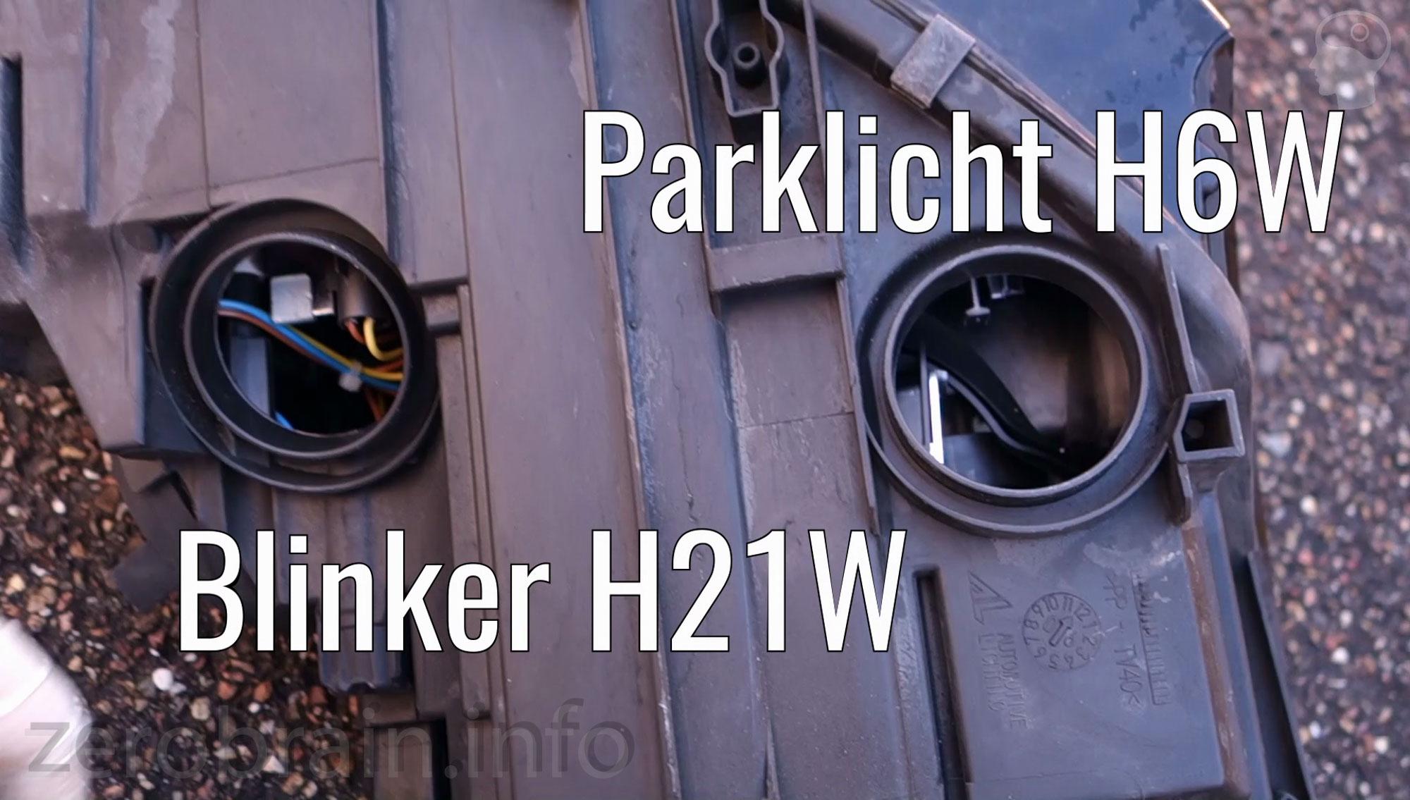 Audi TT 8J Parklicht / Blinker