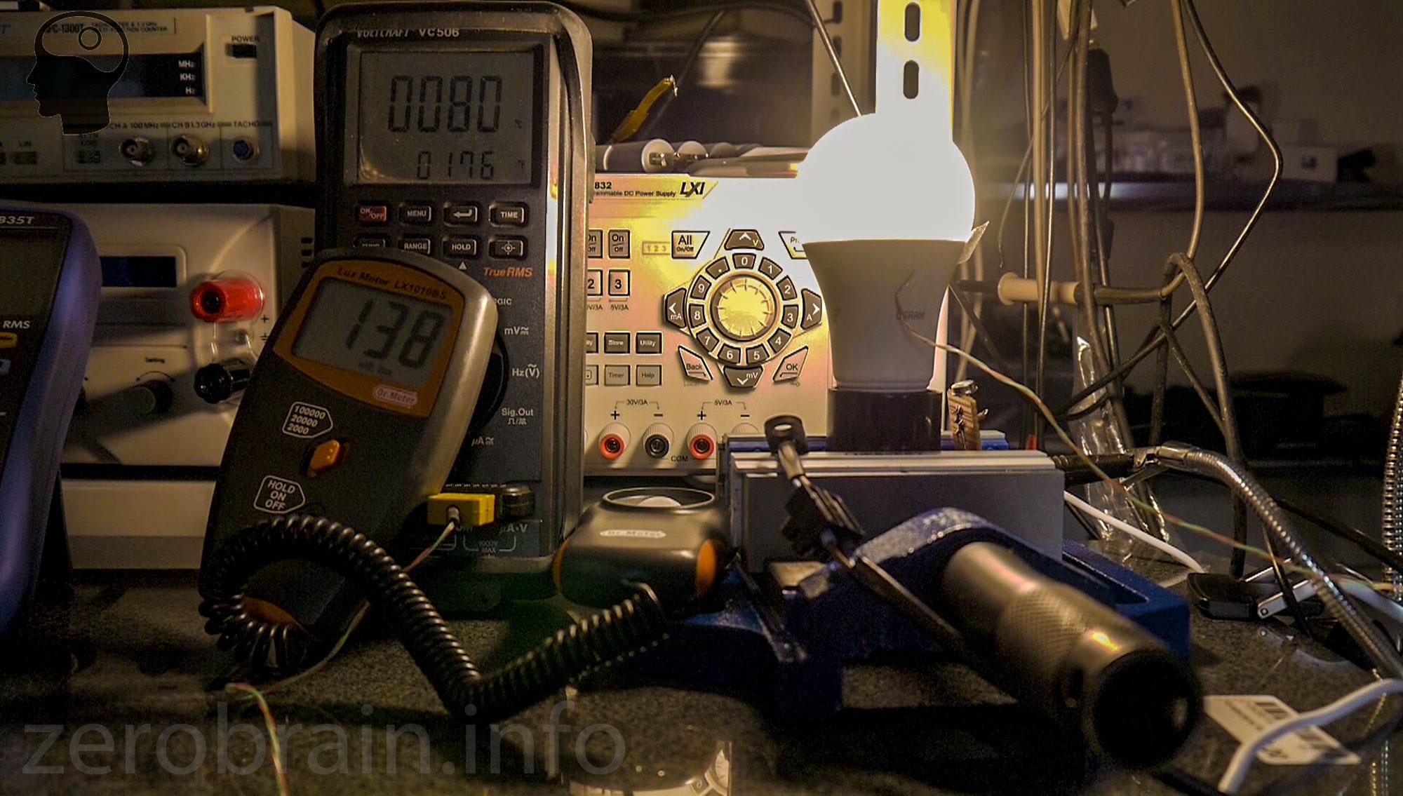 Osram Star Classic LED im Temperaturtest