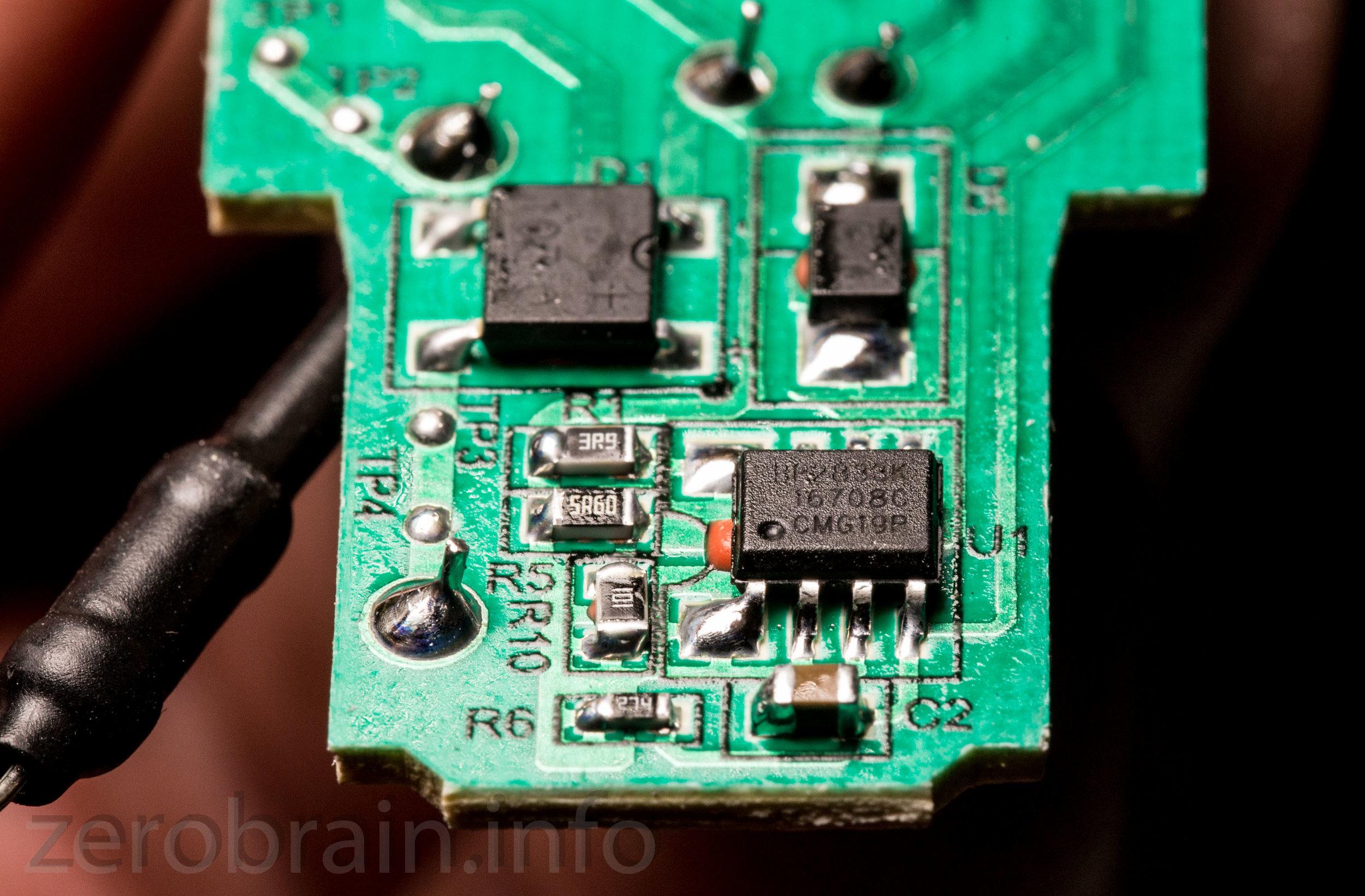 Ein alter bekannter: Der BP2833 wird in der Philips LED verwendet