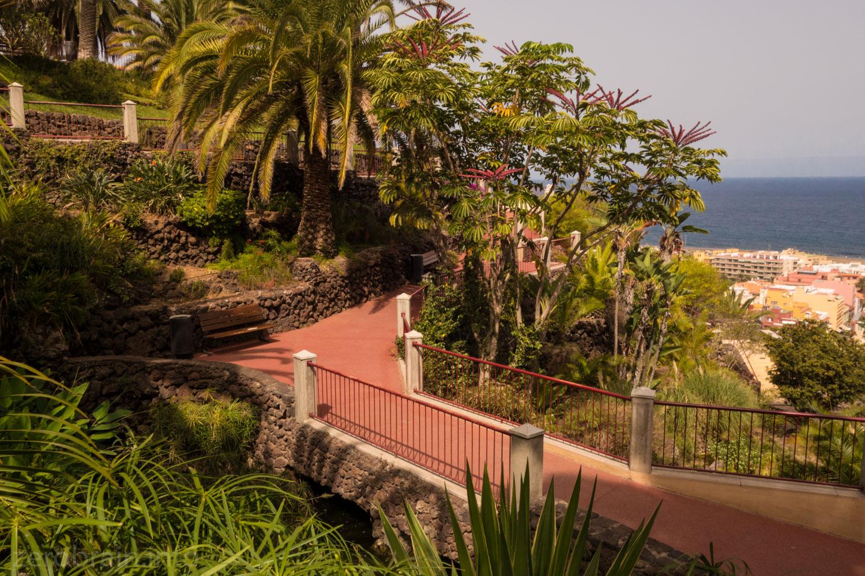 Taoro Park Aussicht
