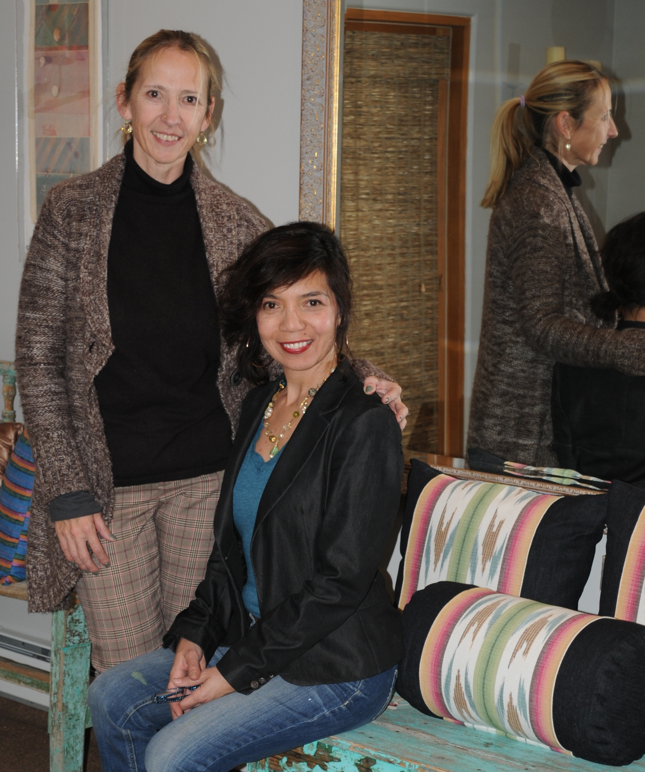 "Ande Hambuchen, Jennifer Ashton, ""Kissen""  Pillow Play in Santa Fe - An interior & fashion design collaboration"