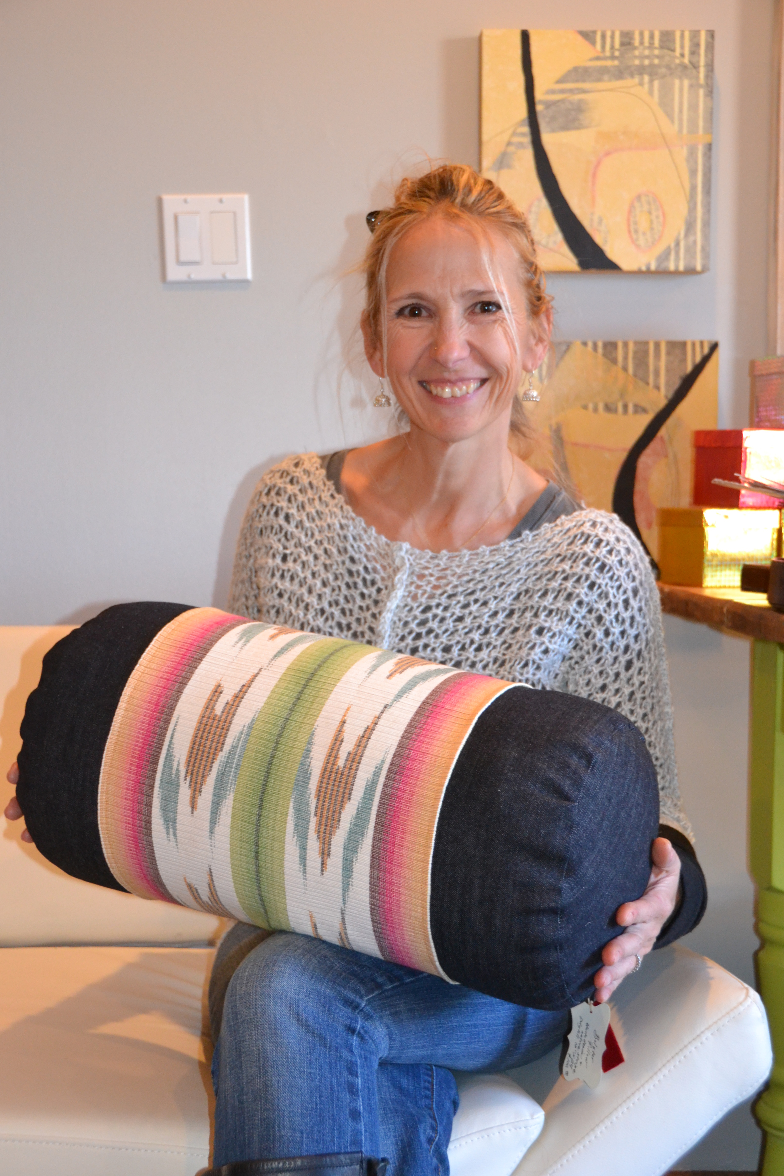 "Ande Hambuchen, ""Kissen""  Pillow Play in Santa Fe - An interior & fashion design collaboration"