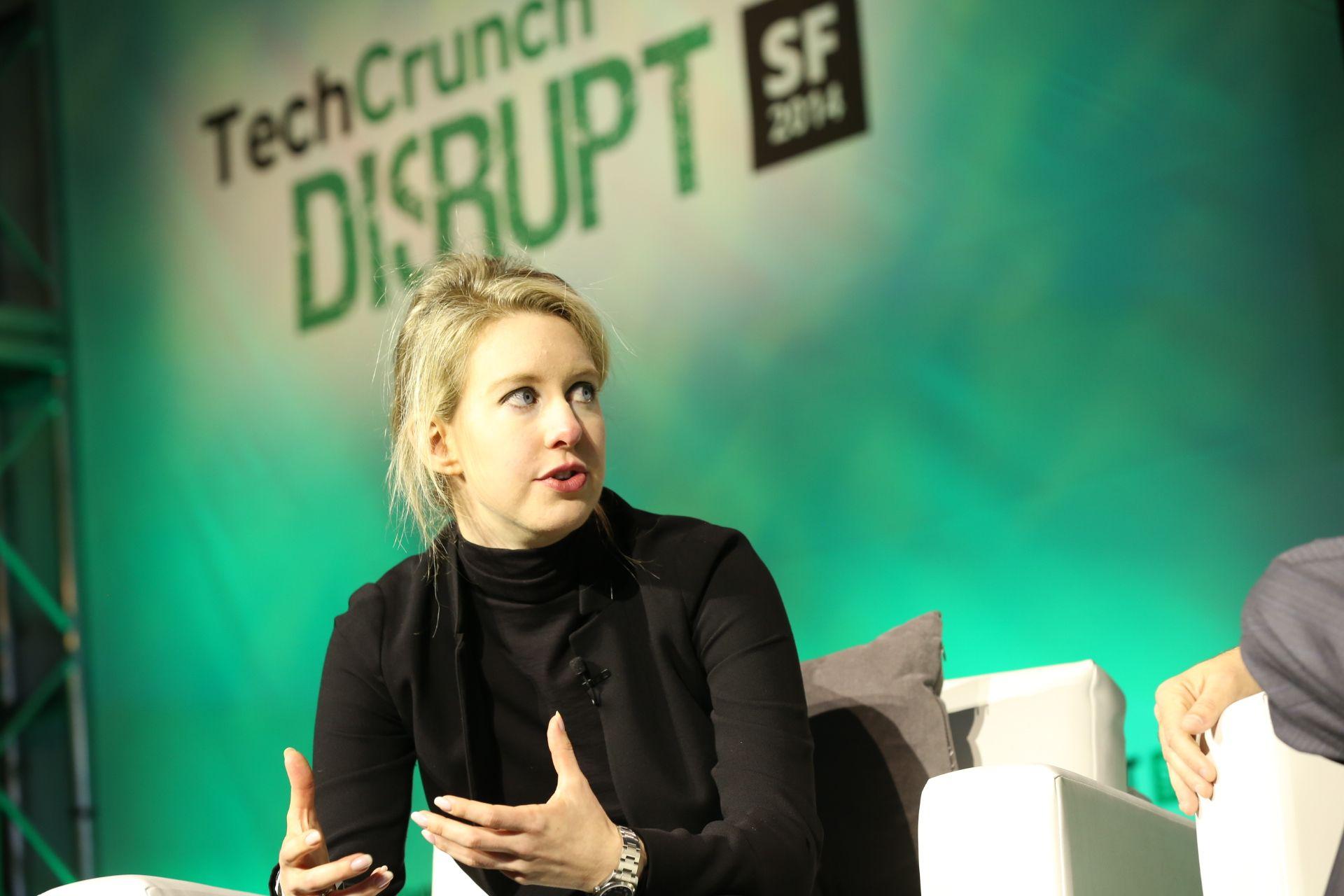 Elizabeth Holmes @ Tech Crunch Disrupt Conference