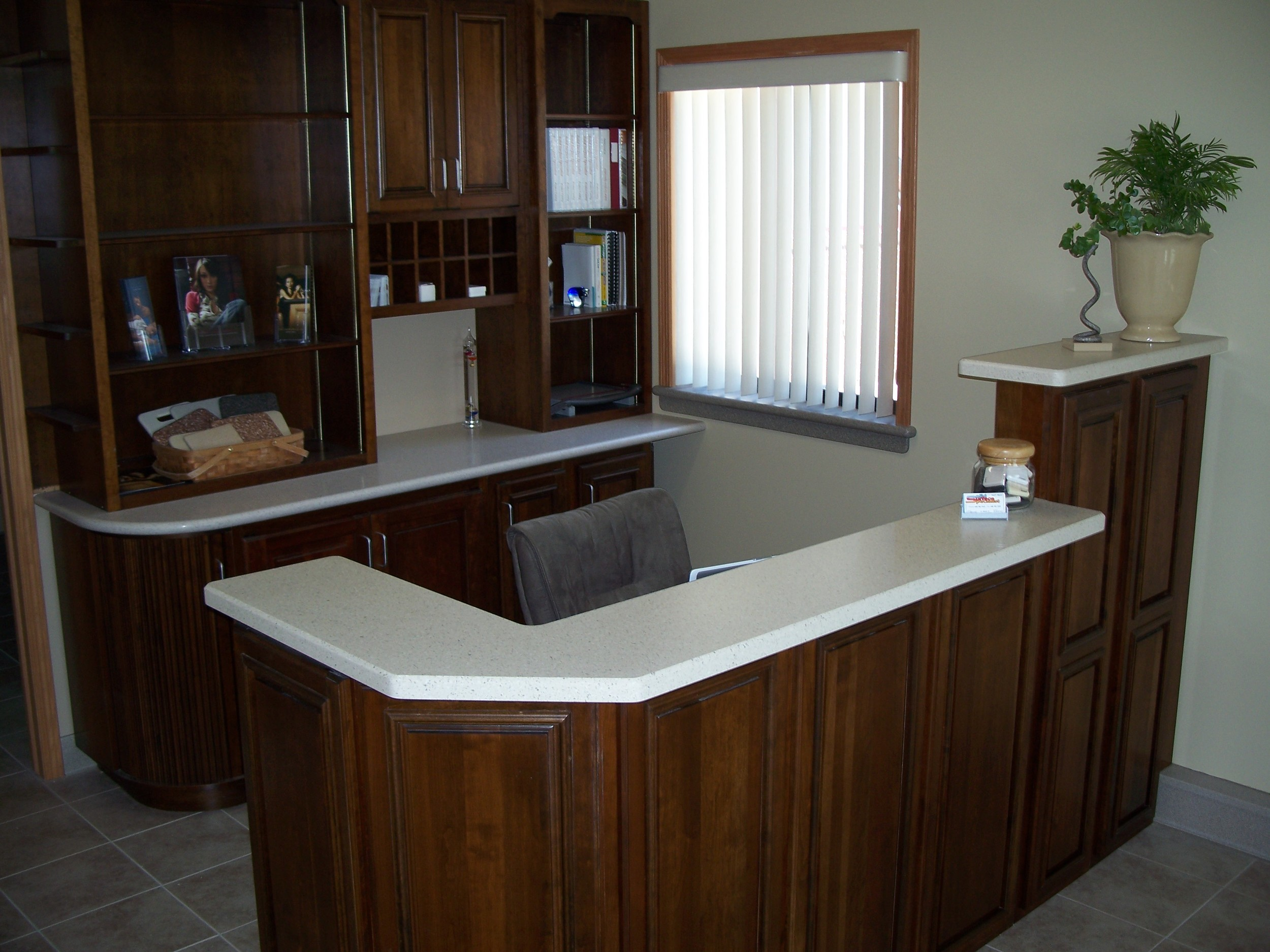 Corian, Fossil and Staron, Shell
