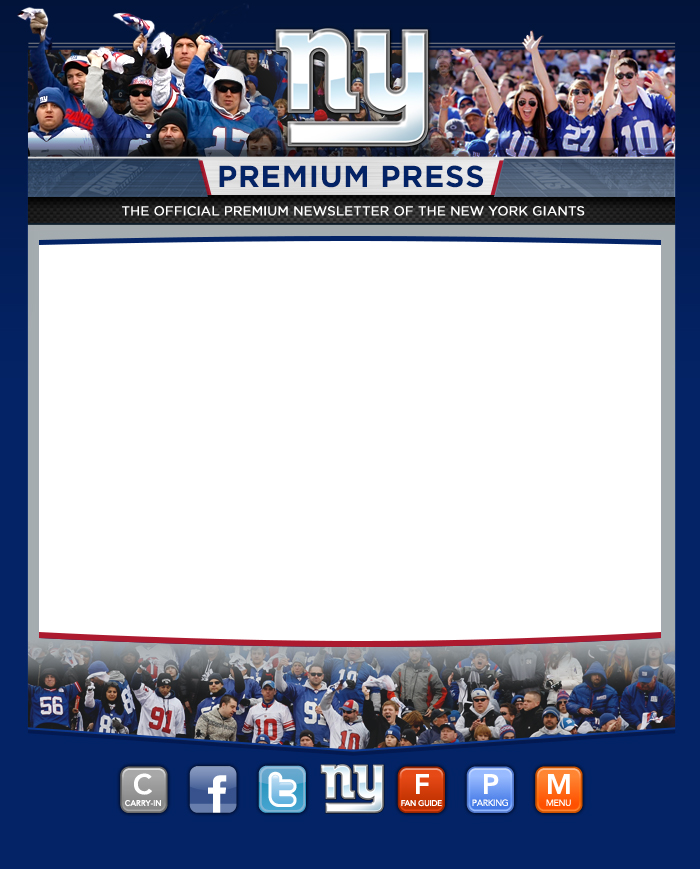 Premium Press | New York Giants