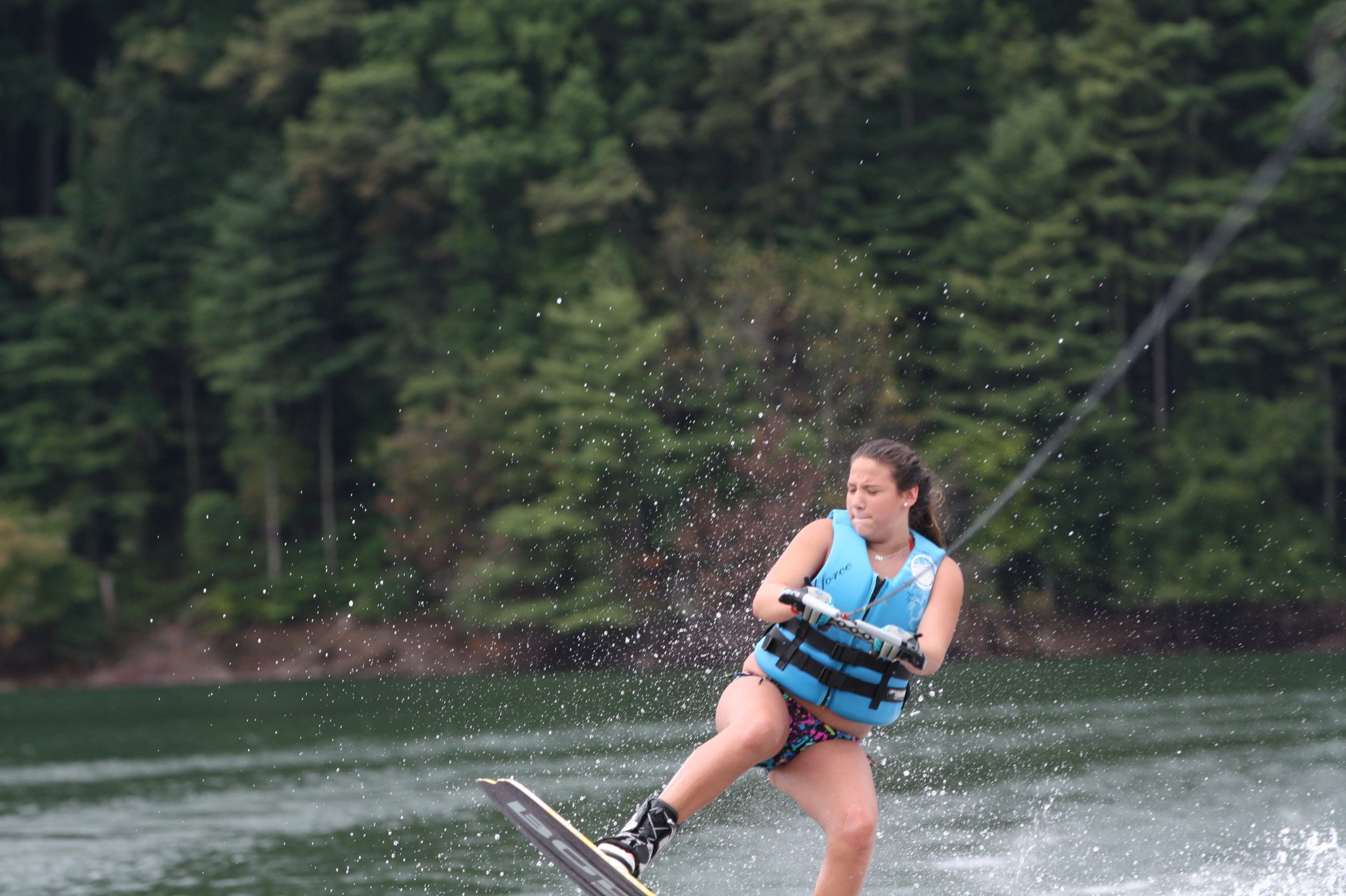 Carney bug wake boarding!