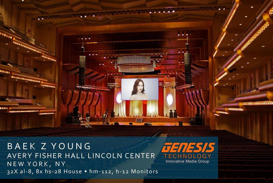 Baek Z Young Concert