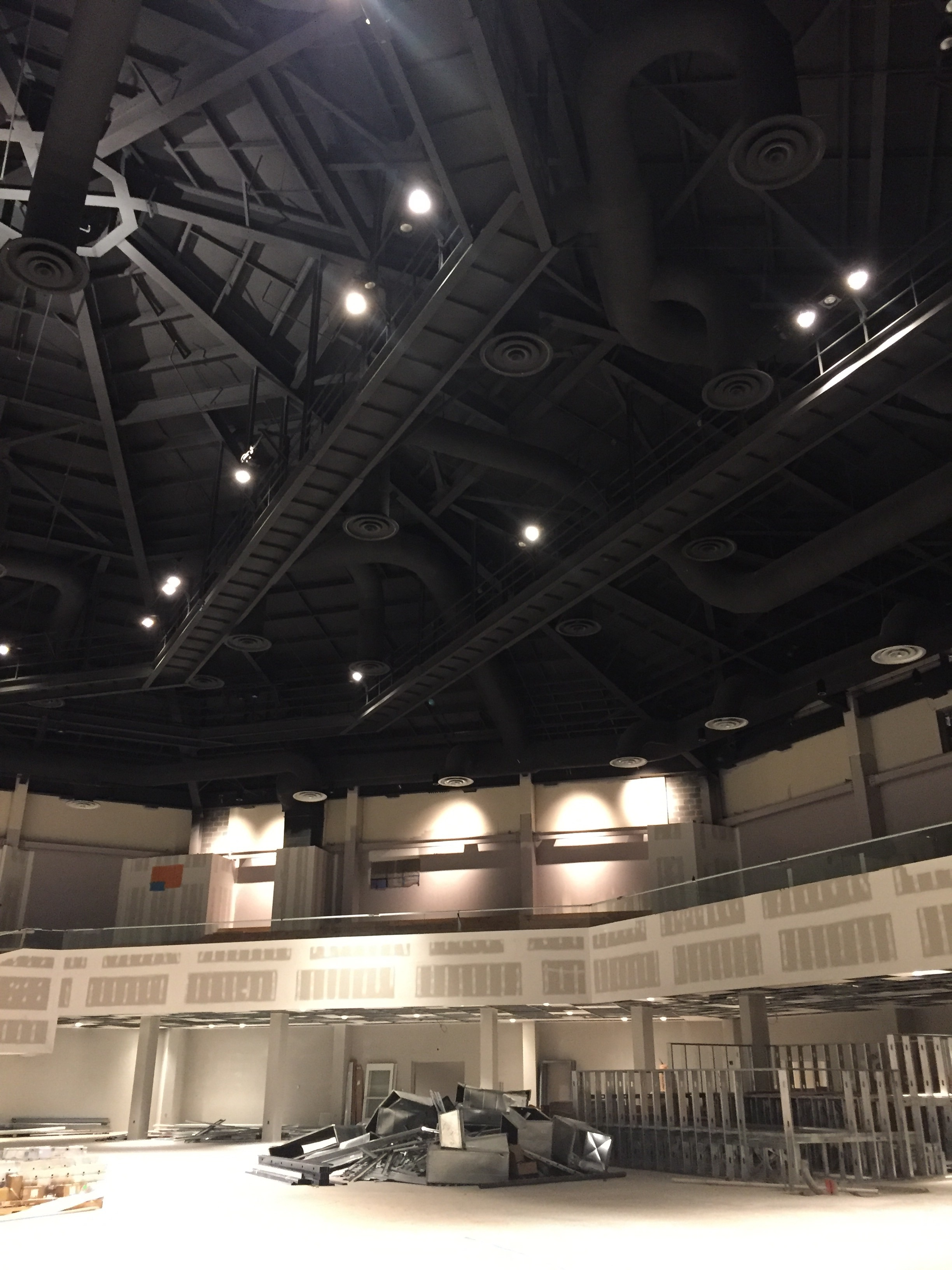 FOH and ceiling