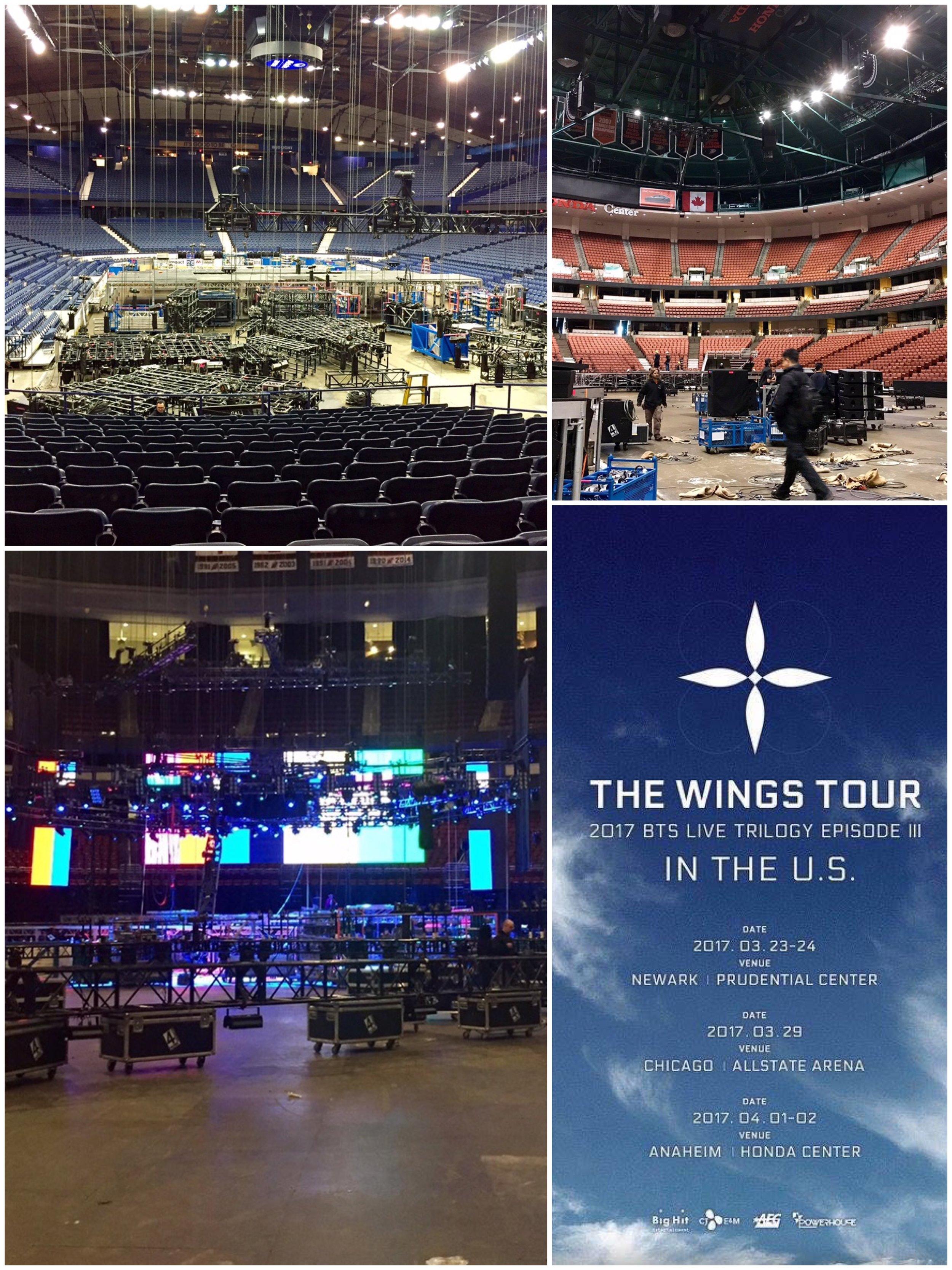 방탄소년단 BTS - US Tour 2017