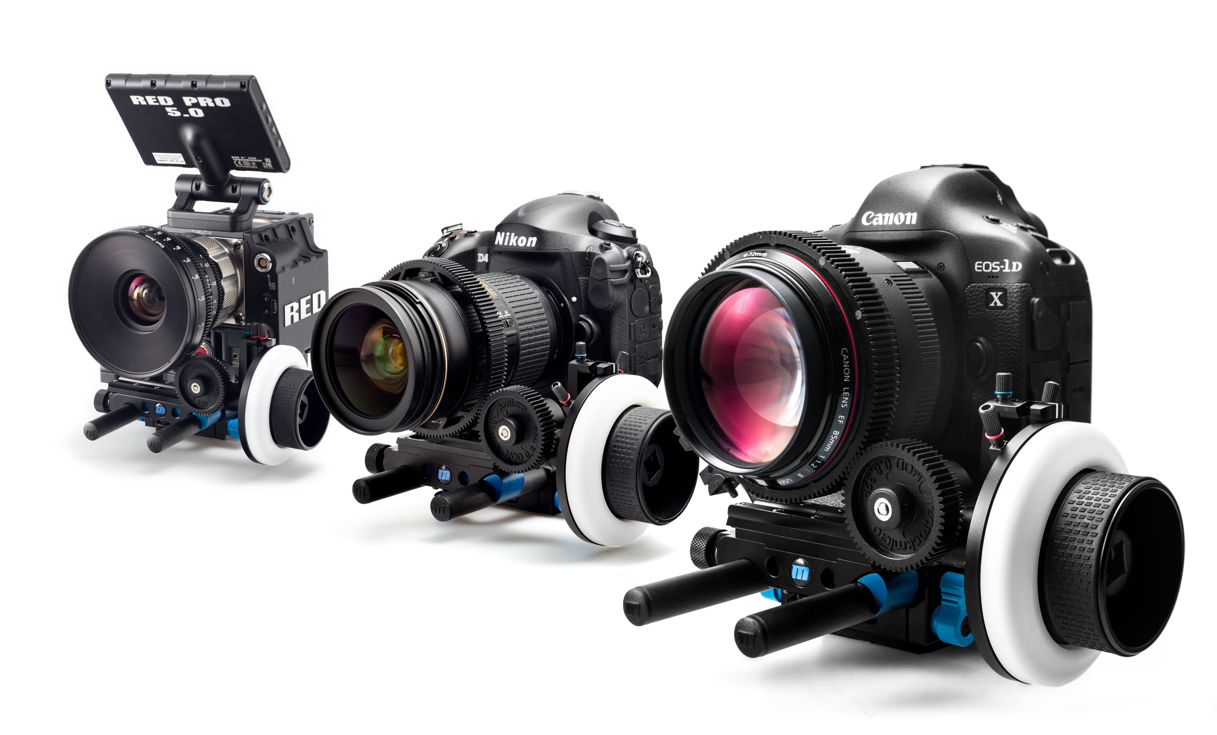 MIX - FORMAT & CAMERAS : Red Scarlet / Nikkon  / Cannon