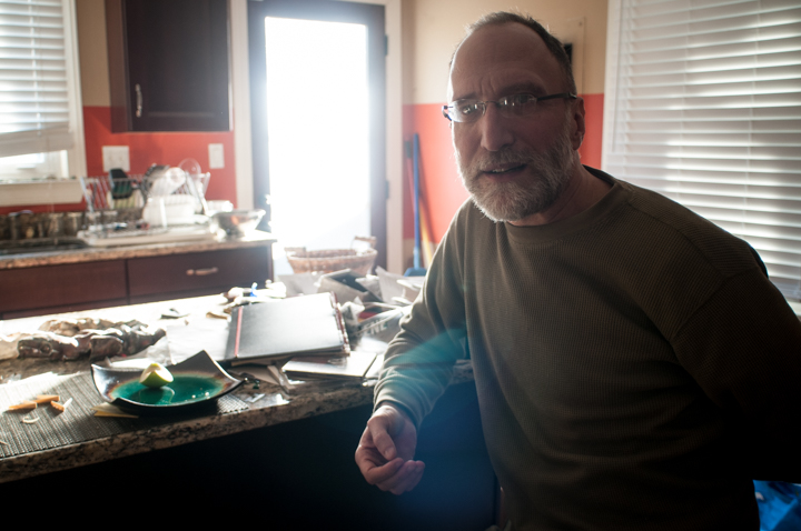 Roger Weismeyer in his home in Nashville. Photo by Tasha A F Lemley