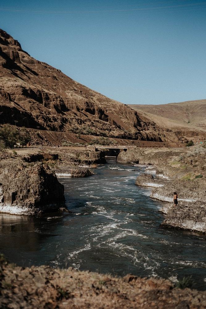 Indian Reserve Warm Springs, Oregon