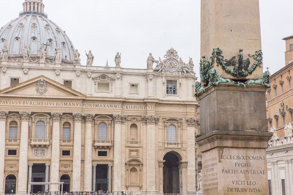 St. Peter's Square and the Vatican