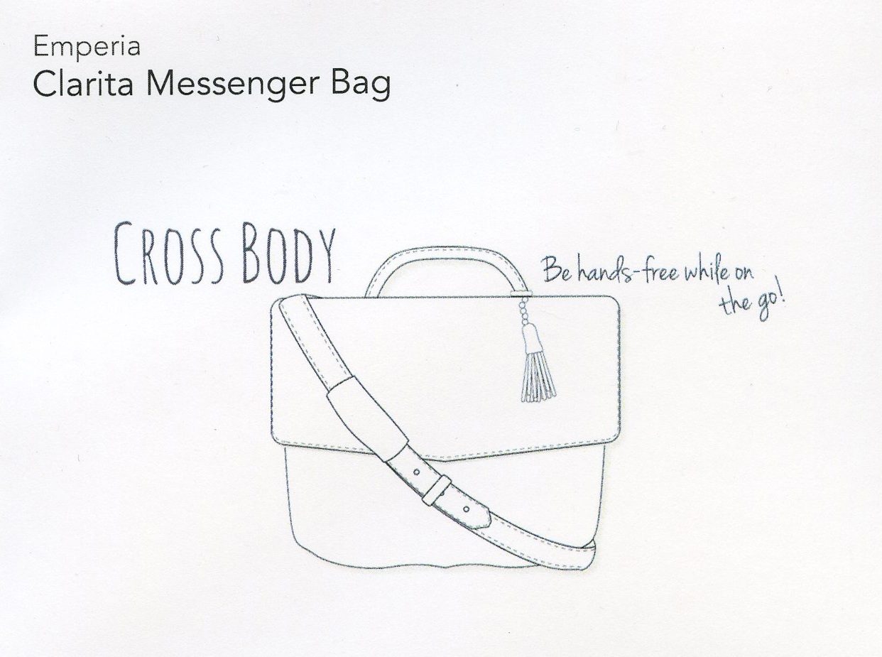 Stitch Fix- Clarita Messenger Bag