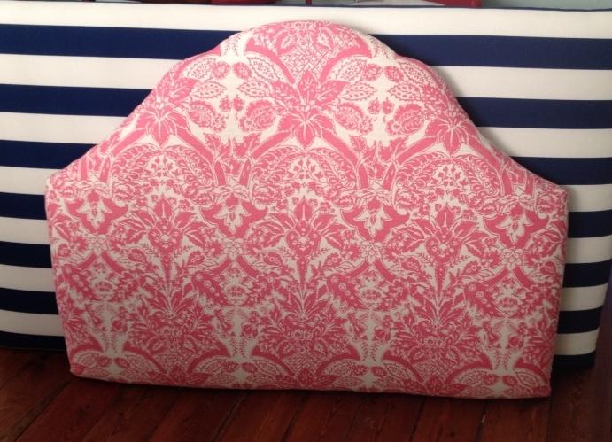 Bedhead Designs Padded Floral Headboard