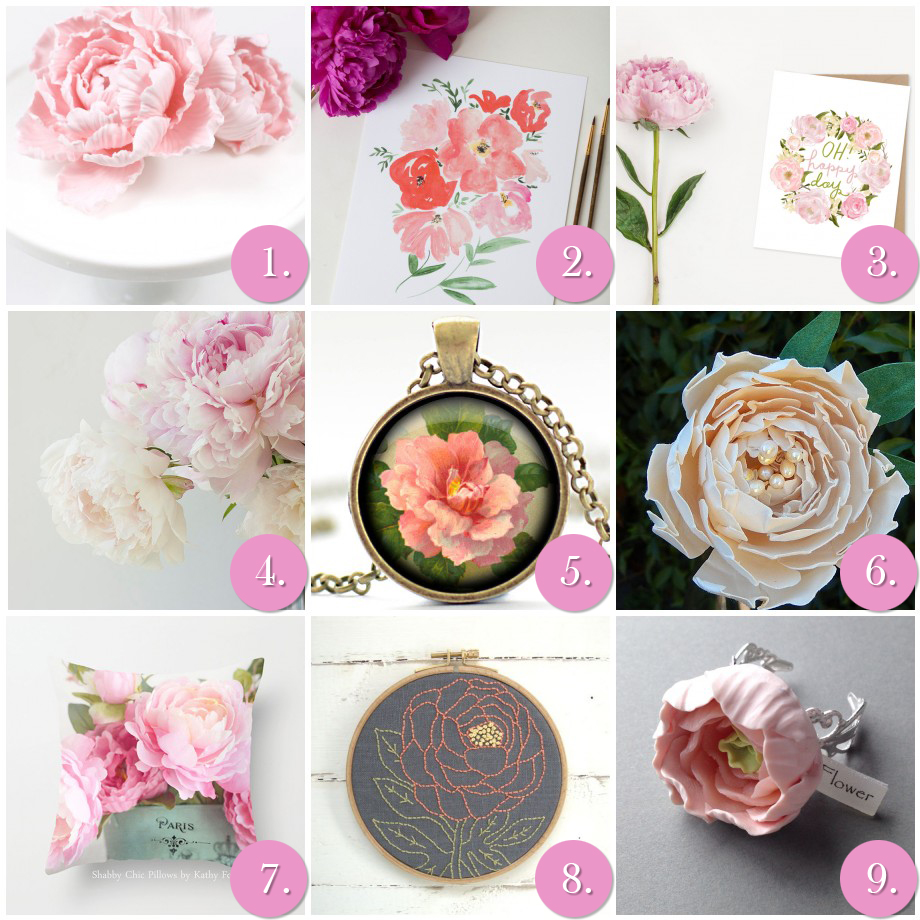 Favorite Friday Finds- Peony