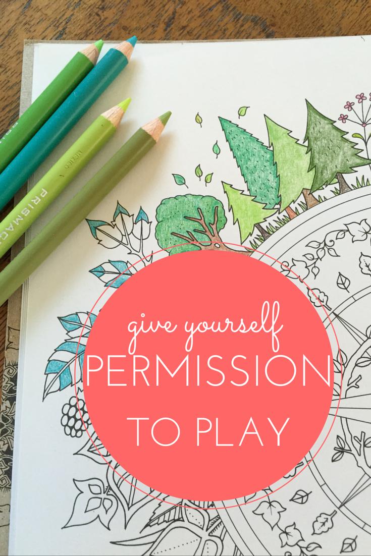 Permission to Play by aprilbern.com