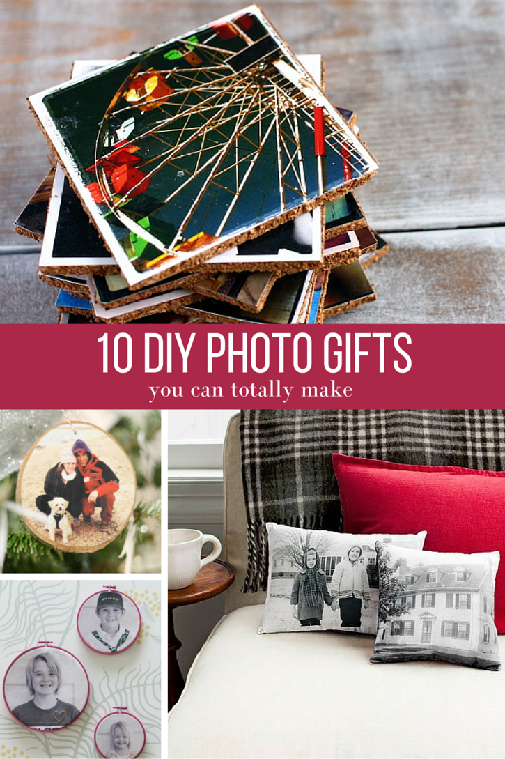10 Super Easy DIY Photo Gifts You Can Make