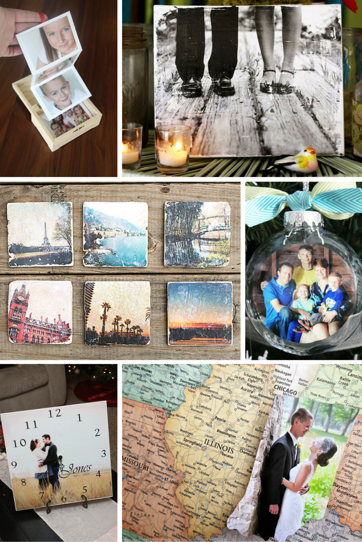 10 DIY ideas for Photo Gifts