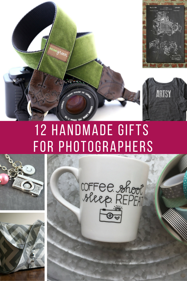 12 Handmade Gifts for Photographers